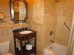 Luxury bathroom at The Hotel Hershey