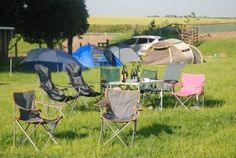 The morning after! Outdoor Furniture Sets, Outdoor Decor, Stonehenge, Campsite, Beautiful, Camping