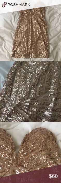 Sabo dress perfect NYE From sabo skirt worn once size medium large zips in back Sabo Skirt Dresses Mini
