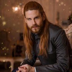 Hair And Beard Styles, Long Hair Styles, Red Hair Men, Ginger Head, Long Hair Beard, Redhead Men, Red Beard, Model Face, Haircuts For Men
