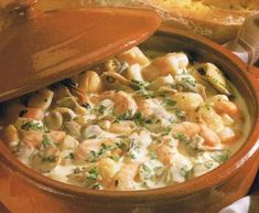 Marmite Dieppoise, French Fish Stew from Upper Normandy