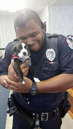 Officer Goes On Routine Call ... And Ends Up Falling In Love