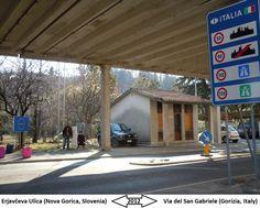 Confini amministrativi - Riigipiirid - Political borders - 国境 - 边界: 2012 IT-SI Itaalia-Sloveenia Italia-Slovenia Siena, Slovenia, Nova, Politics, Italia