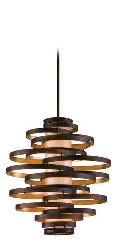 Birgit Anich Staging & Interiors: Corbett Lighting 113-43 Vertigo 3-Light Modern / Contemporary Pendant Light CB-113-43 (=)
