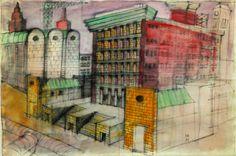 Fukuoka disegno 1987