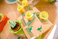 Sombrero cake pops from a Pastel Fiesta Cactus Birthday Party on Kara's Party Ideas | KarasPartyIdeas.com (20)