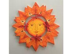 pared sol de cerámica en etno Wreaths, Halloween, Home Decor, Sun, Ceramic Workshop, Homemade Home Decor, Door Wreaths, Deco Mesh Wreaths, Interior Design