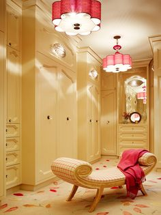 Lady's dressing room designed by Jay Jeffers