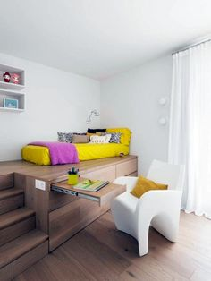 Image result for cabin bed small room and desk -kids