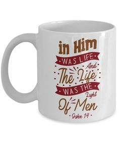 Bible quote Christian Gift Mug