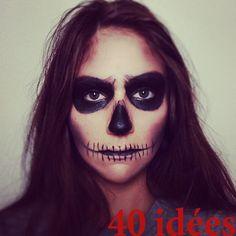 http://fr.halloween.lady-vishenka.com/skeleton-halloween-costumes/ 40. Halloween déguisement Squelette