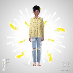 Traje de moda hecho por Flor usando ropa de Finish Line, New Look, Landsend. Estilo hecho en Trendage