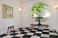 Window and floor Josef Frank, Beautiful Buildings, Beautiful Homes, Modern Decor, Mid-century Modern, House Rooms, My Dream Home, Interior Decorating, Design Inspiration