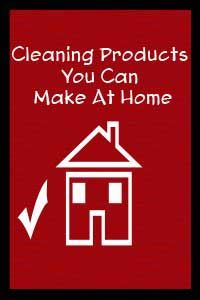here are some easy cleaning supplies you can make at home, whether you want to save money, have run out of cleaning products, or just want healthier alternatives.