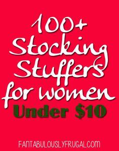 100  Stocking Stuffers for Women Under $10