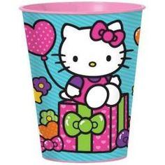 Hello Kitty Rainbow 16 oz. Plastic Cup