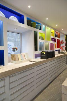 1000 images about paris showroom on pinterest showroom little greene pain - Showroom point p paris ...