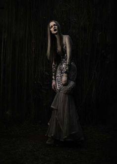 Darkly Shimmering Fashion - The Sapto Djojokartiko 2012 Lookbook is Romantically Gothic (GALLERY)