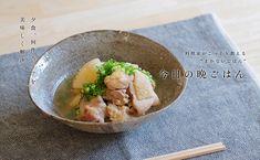 鶏もも肉と長芋のさっと煮のレシピ・作り方   暮らし上手