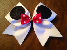 Hey, I found this really awesome Etsy listing at http://www.etsy.com/listing/121358562/cheer-bow-minnie-mouse-worlds