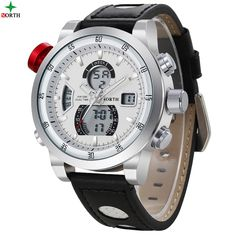 Aliexpress.com : Buy 2016 Luxury Brand North Men Leather Quartz Watches Men's Waterproof Sport Wrist Watch Gents' Clock relogio masculino from Reliable relogio suppliers on Fashionwatch store