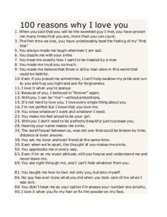 100 reasons why I love you When you said that you will be the sweetest guy I met, you have proven me many times that yo. 100 reasons why I love you When you said that you will be the sweetest guy I met, you have proven me many times that yo. Letters To Boyfriend, Love You Boyfriend, Cute Boyfriend Gifts, Bf Gifts, Boyfriend Anniversary Gifts, Birthday Gifts For Boyfriend, Homemade Boyfriend Gifts, Cute Things To Do For Your Boyfriend, Boyfriend Notes
