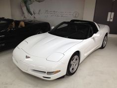 1997 White Coupe