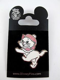 Disney Marie Pin 2004 Fr. The Aristocats Disney Pin Trading New on Card  a