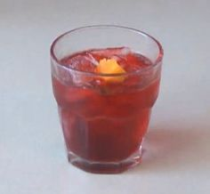 The Beet Negroni Cocktail #gin #vermouth