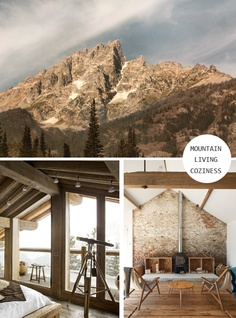 YES. YES PLEASE. Mountain Living  http://whatwilsonwants.blogspot.com/