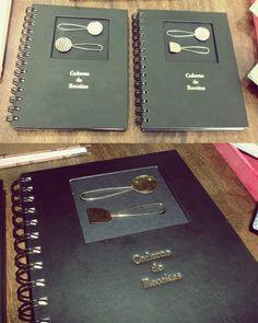 Cadernos de Receita feita à mão