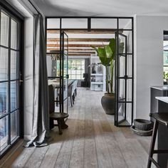 Interior Inspiration, Design Inspiration, Inspiration Boards, Belgian Style, Industrial Interiors, Living Room Colors, Window Coverings, Home Office, Sweet Home