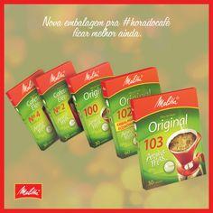 Inovamos também na embalagem dos Filtros Melitta, para ficar mais fácil de você abrir e passar o seu café. :) https://www.youtube.com/watch?v=2rEnwiCqrcA&feature=youtu.be