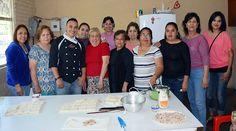 Trabajan en taller de cocina en el DIF Nava