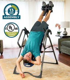 ... Pain If You Are Not Familiar With Inversion Therapy It Can Look Like  Some Kind Of Strange Torture System. Seeing Someone Hang Upside Down From  Inversion ...