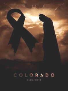"""In the wake of the Colorado theater shooting, people across the country are creating art to show their support for the victims.    James Holmes, 24, opened fire in a movie theater at the midnight showing of """"The Dark Knight Rises"""" in Aurora, Colo. Armed with multiple guns, he stormed in, set off smoke bombs and began shooting.    He shot a total of 70 victims, 12 of whom died, making it the worst mass shooting in U.S. history."""