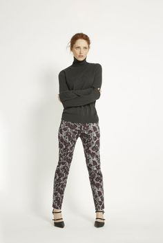 Printed Alba Trousers