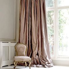 Lush curtains.. Love,love..