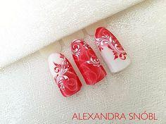#nail #nailart #monday #moyra #studio #rose #gelnails #gelpolish #supershine #red #instanails #ilovemyjob