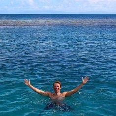 Throw back my trip to the Great Barrier Reef :) such a great day miss the people #greatbarrierreef #freediving #openoceanswim #australia by chris_painter92 http://ift.tt/1UokkV2