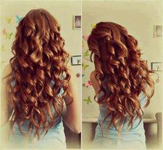 Cute tight/loose curls