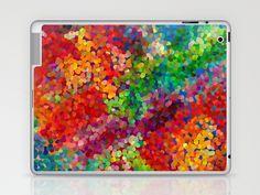 Color Theory Clash Laptop & iPad Skin