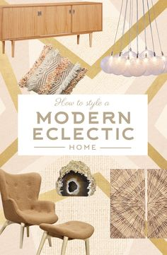 How To Style A Modern Eclectic Home: It's time for a realistic approach to modern design and we've got it here! With our three simple tricks, you can keep your personal treasures out in the open, but still have a home that feels fresh and clean. Shop Now Home Interior, Interior Decorating, Interior Design, My Living Room, Home And Living, Home Renovation, Dot And Bo, Style Vintage, My New Room