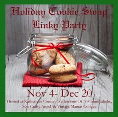 Sew Crafty Angel: Christmas Cookie Swap Linky Party @ Sew Crafty Ang...