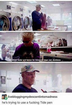 My fav part in Deadpool