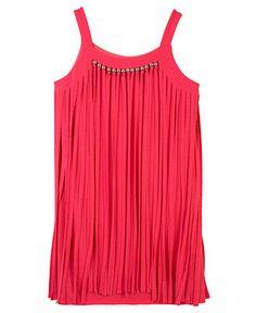 BCX Girls Dress, Little Girls Fringe Dress - Kids - Macy's