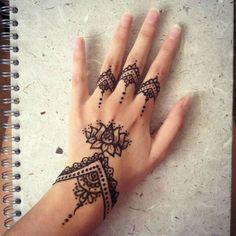 Muster henna Ideen