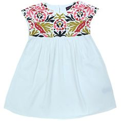 Antik Multicolored Embroidered | ladida | girls dress #fashion