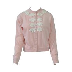 Chanel 2007 Blue & Peach Cashmere Sweater - 46 | Cashmere sweaters ...