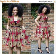 Mod le de robe en pagne et souvent ce sont des patchwork for Quand les robes de mariage seront elles en vente
